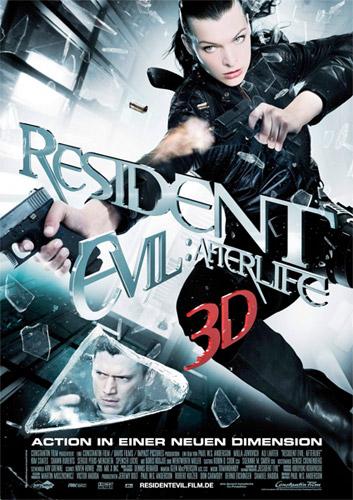 Nuevo cartel de Resident Evil: ultratumba