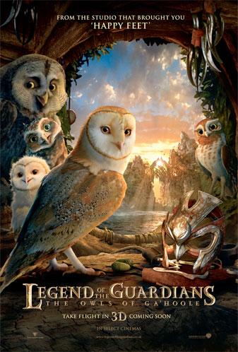 Nuevo cartel de Ga'Hoole: la leyenda de los guardianes