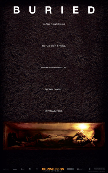 Nuevo cartel de Buried de Rodrigo Cortés