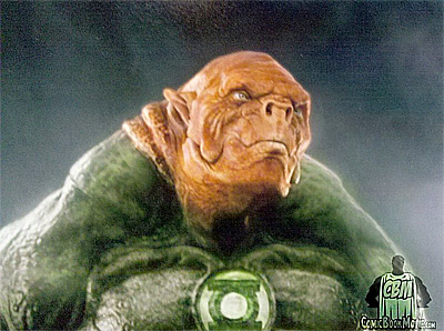 ¿Aspecto final de Kilowog en Green Lantern?
