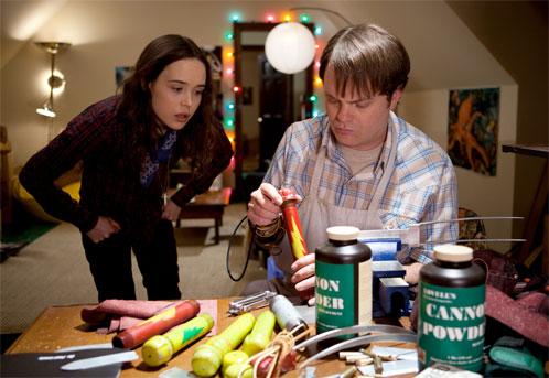 Nueva imagen de Super de James Gunn con Rainn Wilson y Ellen Page