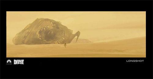 Diseño creado por Jock para el Dune que no será