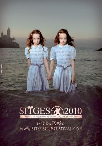 Póster de Sitge 2010 43 Festival Internacional de Cinema Fantastíc de Catalunya