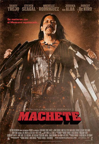 Póster español de Machete