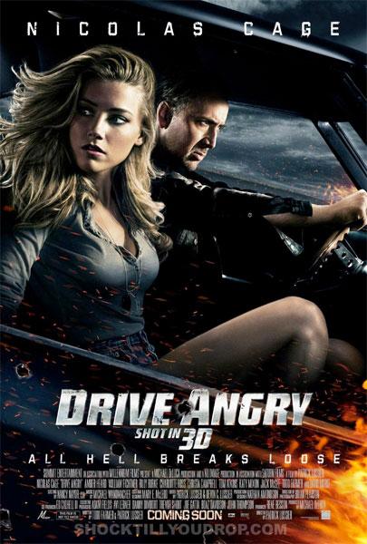 Nuevo cartel de Drive Angry 3D