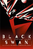 Cuatro primeros carteles de Black Swan de Darren Arofnosky