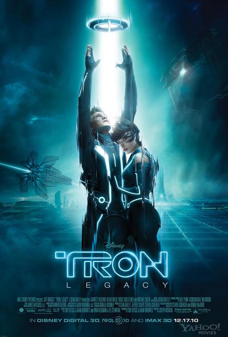 Póster final de TRON: Legacy