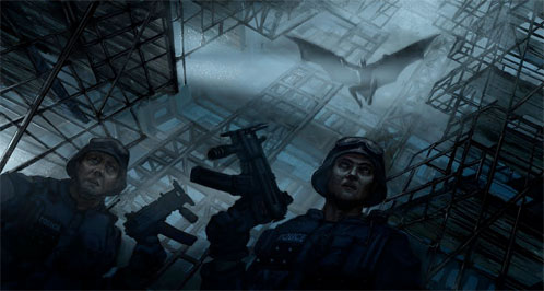 Supuesto concept art de The Dark Knight Rises