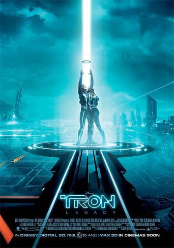 Otro cartel más de TRON: Legacy (con truco)