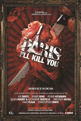 Primer cartel de Paris I'll Kill You