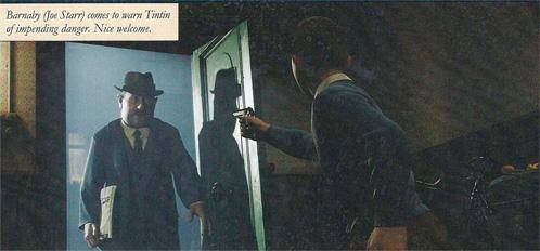 Tintín frente a ¿Barnaby?