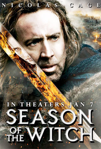 Nuevo cartel de Season of the Witch con Nicolas Cage
