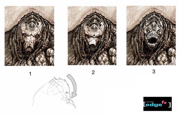 Concept Art del Doomsday que zurraría al Superman que nunca fue obra de Steve Johnson y Edge FX