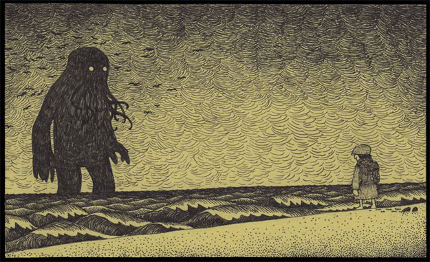 No se quién os traerá a vosotros los regalos, yo sueño con entidades de los fondos más oscuros de los océanos