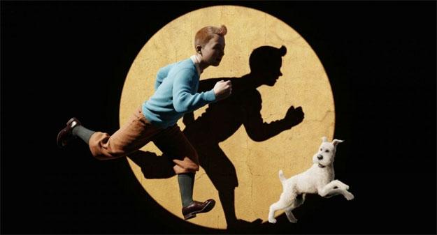 Las famosas primeras imágenes de Las aventuras de Tintín: el secreto del Unicornio en alta calidad