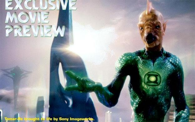 Nueva imagen de Tomar-Re en Green Lantern