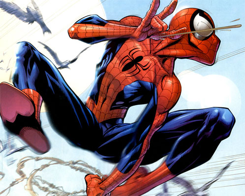 Ultimate Spider-Man creado por Brian Michael Bendis y Mark Bagley