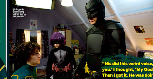 Kick-Ass se cruza en el camino de Big Daddy y Hit-Girl