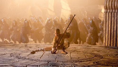 Nueva imagen de Airbender: el último guerrero
