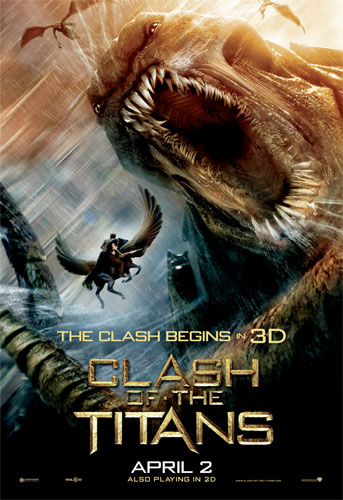 Nuevo cartel de Furia de Titanes en 3-D: Kraken