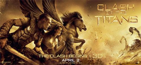 Nuevo cartel de Furia de Titanes en 3-D: Perseo, Io y Pegaso