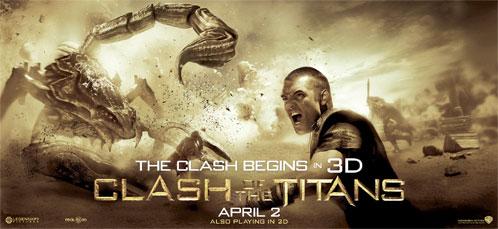 Nuevo cartel de Furia de Titanes en 3-D: Perseo