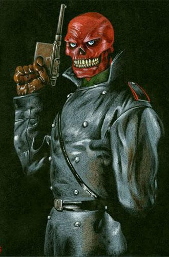 Cráneo Rojo el villano de The First Avenger: Captain America