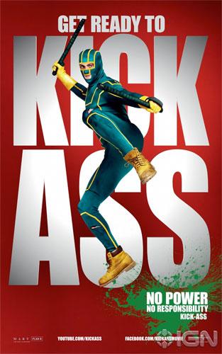 Nuevo cartel de Kick-Ass con Kick-Ass