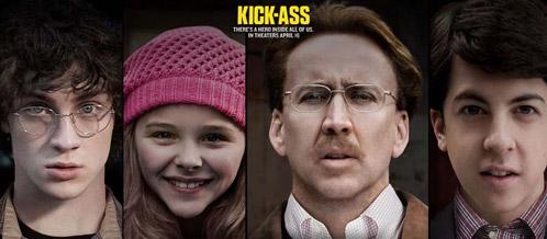 Cartel de Kick-Ass - por el día