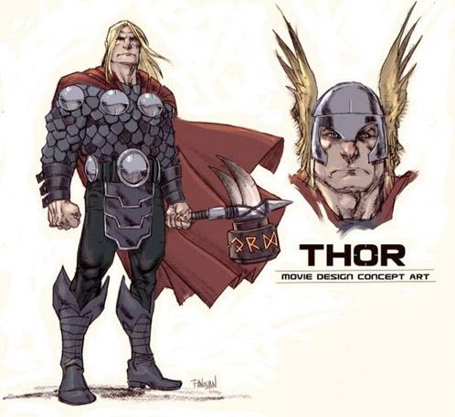 Supuesto arte conceptual de Thor