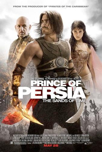 Póster final de Prince of Persia: las arenas del tiempo