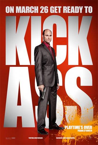 Nuevo póster de Kick-Ass con Frank D'Amico