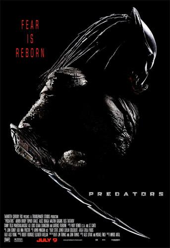 Teaser póster de Predators de Nimród Antal