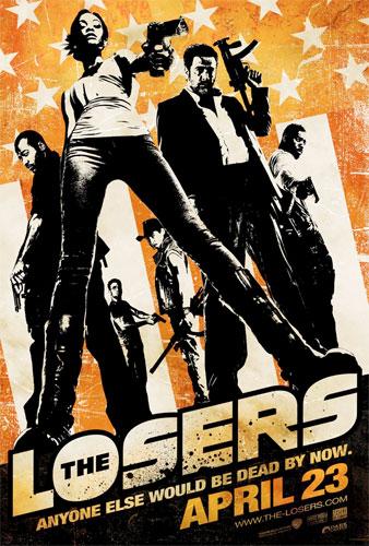 Nuevo cartel de The Losers