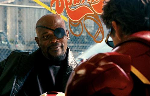 Nueva imagen de Iron Man 2. Encuentro entre Nick Fury y Tony Stark