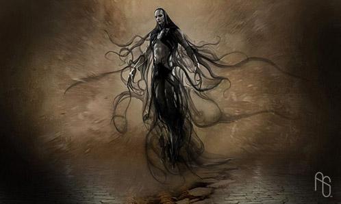 Arte conceptual de Percy Jackson y el ladron del rayo: Hades