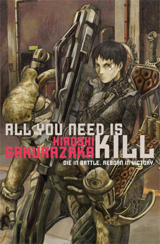 "Portada de ""All You Need is Kill"""
