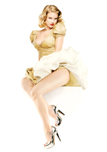 Alice Eve pin-up para The First Avenger: Captain America