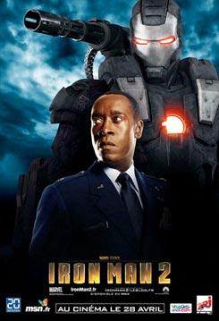 Nuevos carteles de Iron Man 2. War Machine