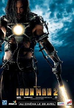 Nuevos carteles de Iron Man 2. Whiplash