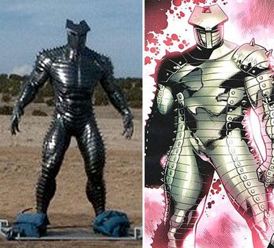 Primer vistazo al Destructor de Thor y su comparativa en cómic