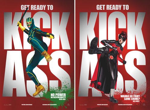Kick-Ass y Bruma Roja