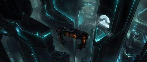 Concept Art de TRON Legacy