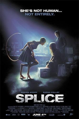 Nuevo cartel de Splice