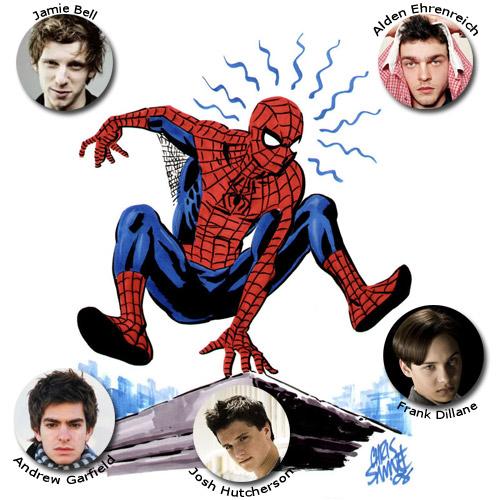Los candidatos para ser el nuevo Spider-Man