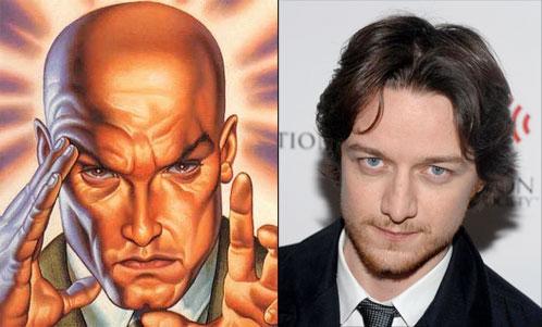 """""""Soy el nuevo Charles Xavier"""", James MacAvoy dixit"""