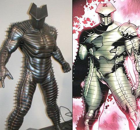 El aspecto del Destructor en Thor de Marvel Studios