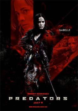 Nuevo póster de Predators: Isabelle