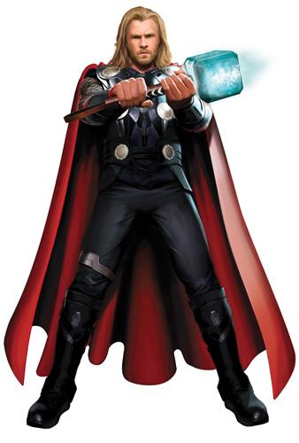 Diseño del traje que veremos en Thor