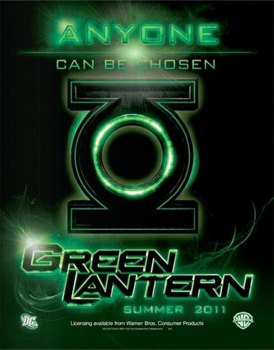 Primera promo oficial de Green Lantern: logo y lema